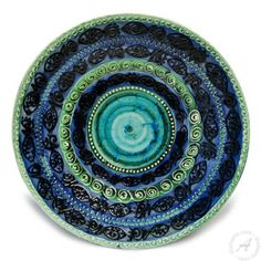 Decorative Hanging Plate - Raffaellesco style with center - 10 ...