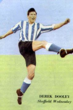 Derek Dooley of Sheffield Wed in Sheffield Wednesday Fc, Image Foot, Laws Of The Game, Football Stickers, Association Football, Most Popular Sports, World Cup, Baseball Cards, Badges