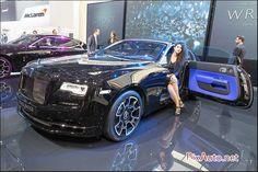 Salon-auto-geneve, Rolls Royce Wraith Black Badge