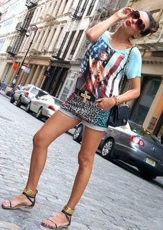 Mixing Prints!   O Fantastico Mundo De Nicole  #