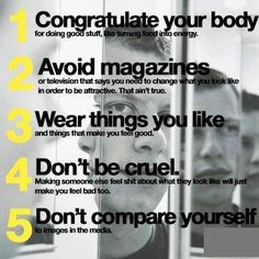 5 steps to feeling better about your body