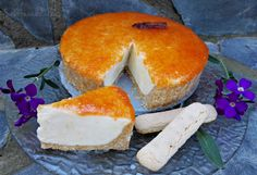Cheesecake lady fingers y pomelo