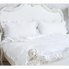 At the French Bedroom Company, we have a luxe collection of French bed linen, available in all sizes, from single to emperor. Browse the range online Nursery Bedding Sets Girl, Best Bedding Sets, Bedding Sets Online, Luxury Bedding Sets, Comforter Sets, King Comforter, Ruffle Bedding, Blue Bedding, Linen Bedding