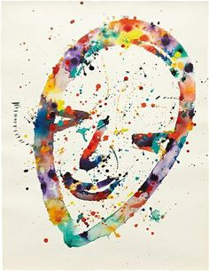 Untitled (Self-Portrait)     Artist: Sam Francis  Completion Date: 1976