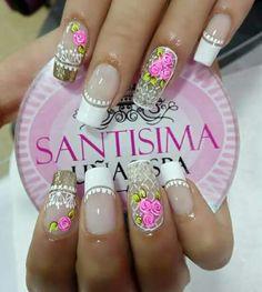 Colorful Nail Designs, Nail Art Designs, Birthday Nails, Nail Decorations, Manicure And Pedicure, Spring Nails, Nail Polish, Divas, Projects