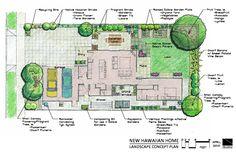 Home landscape design plans