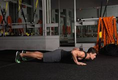 Abs Exercises: Flying Push-up
