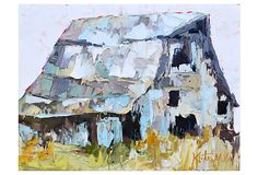 Kate Mullin, Grey Barn. The original is at Gallerie on Broad; this is a reproduction of it on OneKingsLane.com