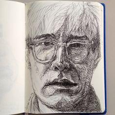 Drawing..., Warhol