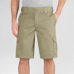 Dickies Men's Big & Tall Regular Fit Flex Twill 11 Cargo Short- Desert Sand 44