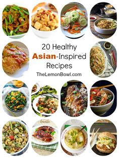 20 Healthy Asian-Inspired Recipes