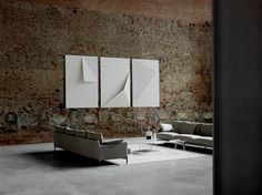 Dumas design Piero Lissoni 2016. On schedule for our 2017 winter showroom installation!