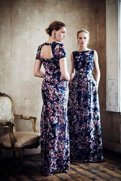 Erdem Resort 2013  (i would so wear this...in a gown like this or even shorten the hem and wear it as a sundress)