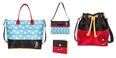 Mickey and Minnie Mouse seatbelt bags by Harveys | [ https://style.disney.com/fashion/2016/03/18/these-mickey-and-minnie-seatbelt-bags-are-too-cute/#Mickey%20Tote ]