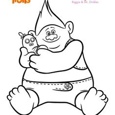 Trolls Coloring Sheets And Printable Activity