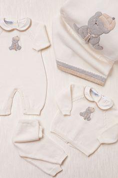 Baby Graziella Italian Merino Wool Blanket and two piece Suit.