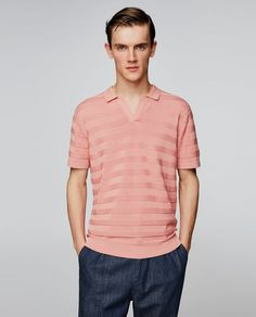Image 2 of KNIT POLO SHIRT from Zara