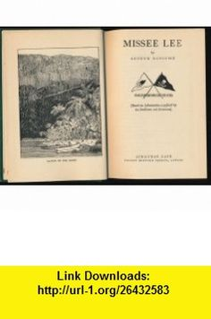 MISSEE LEE. A Swallows and Amazons Book Arthur Ransome, Author ,   ,  , ASIN: B000NI4XSE , tutorials , pdf , ebook , torrent , downloads , rapidshare , filesonic , hotfile , megaupload , fileserve