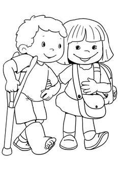 Regole di comportamento. Cosa fare e cosa non fare | autismocomehofatto Lds Coloring Pages, Coloring Sheets, Coloring Books, Art Drawings For Kids, Drawing For Kids, Art For Kids, Bible Lessons, Lessons For Kids, Shapes For Kids