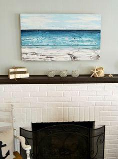 Ocean-Inspired Original Painting - Aimee Weaver Designs