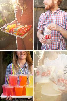 Styled Eats: Food for an Outdoor Movie Night