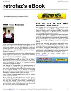 mlm-home-business-16951408 by retrofaz via Slideshare