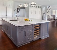 Kitchen Island Layou