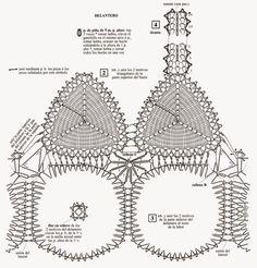 crochelinhasagulhas: Cropped branco em crochê