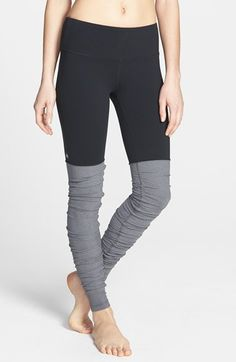 LOVE these ribbed leggings