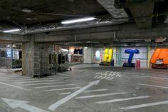 藤原ヒロシ「ザ・パーキング」公開 銀座の地下にショップ空間が出現 | Fashionsnap.com