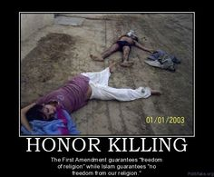 honor killing unjustifiable