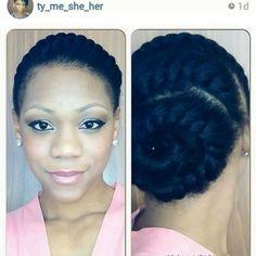 goddess braids | Goddess Braid Twisted