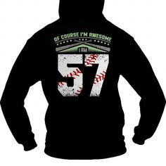 I am awesome baseball player 57 T-Shirts & Hoodies