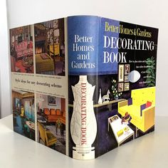 One of my ALL time favorite decorating books! 1961 #BetterHomesandGardens #decoratingbook is finally back. Click onto photo for more #mcm fabulousness.✨ 1960s Home Decor, Candy Gifts, Ring Binder, Mid Century House, Etsy Shipping, Furniture Arrangement, Saving Ideas, Better Homes And Gardens, Other Rooms