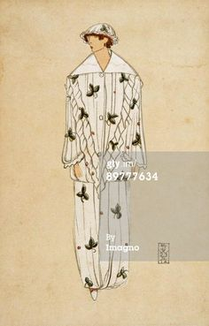 News Photo: Fashion card designed by Eduard Josef Wimmer Wisgrill…