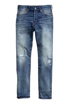 Slim Low Ripped Jeans | H&M