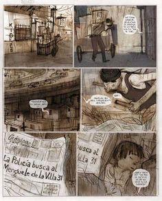 Páginas de 'Dear Patagonia', de Jorge González - RTVE.es