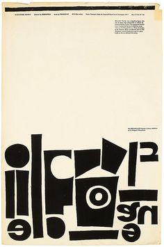 Alexander Nevsky (dir. Sergei Eisenstein, 1938), with short film O Dreamland (dir. Lindsay Anderson, 1953), designed by Fred Barter, silkscreen, 23 October 1959.