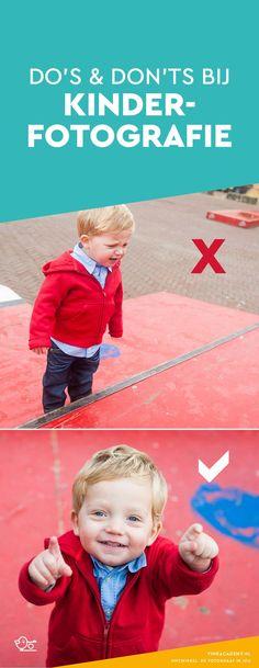 Fotografietips voor kinderfotografie. Do's en Don'ts voor het fotograferen van kinderen. Hoe zorg je voor mooie kinderfoto's waar je zoon of dochter stralend opstaat in plaats van boos of dat het een hoop drama geeft? In het artikel uitleg in het Nederlands met praktische tips #kinderfotografie #nikon #canon #fotografietips