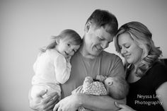 Worth the Wait, Seattle newborn photography, Newborn boy with big sister, mom and dad photo, sweet toddler girl