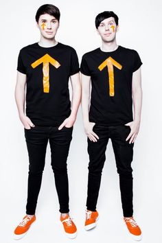 I love how their total opposites, even the way they put their hands in their pockets
