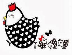Resultado de imagem para riscos de galinha d'angola para pintura em tecido