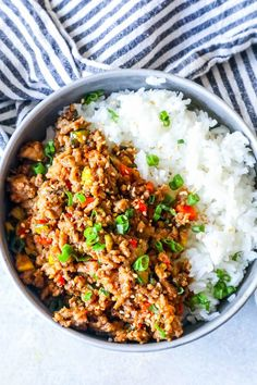 Healthy Rice And Ground Turkey Recipe.Asian Ground Turkey And Rice Bowls Recipe Sweetphi. Our Best Stuffed Pepper Recipes : Food Network Recipes . Instant Pot Ground Turkey Stuffed Peppers Sweet Peas And . Asian Ground Turkey Recipe, Turkey And Rice Recipe, Healthy Ground Turkey, Dinner With Ground Turkey, Crockpot Ground Turkey, Ground Turkey Dinners, Ground Turkey Meal Prep, Healthy Turkey Recipes, Meat Recipes For Dinner