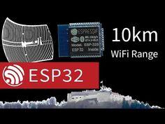 ESP32 WiFi Hits 10km with a Little Help | Hackaday