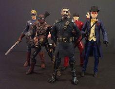 Steampunk marvel action figures