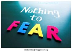 "Fear unleashes a host of doubts. It chips away at our confidence in God's goodness. If God can sleep in our storms we think ""Does He care?"" Our minds continue, ""If God doesn't care, then we must take control."" We become control freaks because we perceive a loss of control and somebody has to do something!"
