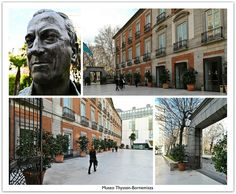 """ Museo Thyssen-Bornemisza Madrid, Spain : Est. 1992 : In the Heart of the Golden Art Triangle "", via Flickr."