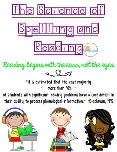 The Science of Spelling and Reading Blog Series