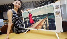 LG Classic TV Full HD Retro Design 32LN630R 80cm 32inch IPS Panel Standtype HDMI   eBay