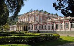 43 - Visão lateral do Museu Imperial